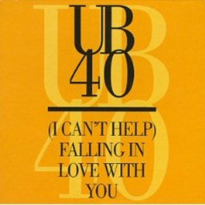 Product picture UB 40 Cant help falling in love