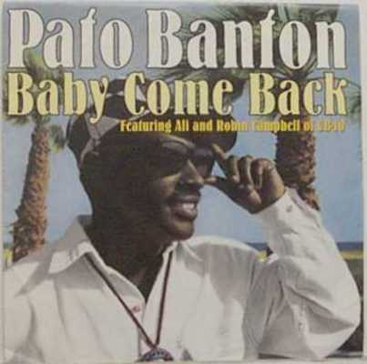 Product picture Pato Banton - baby come back